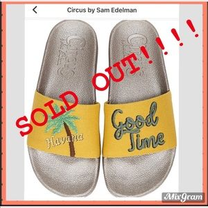 🎪SOLD OUT!!!!!! CIRCUS SANDALS SIZE: 9M, 10M 🎪